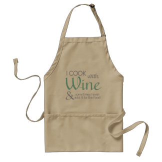 Tablier de citation de vin