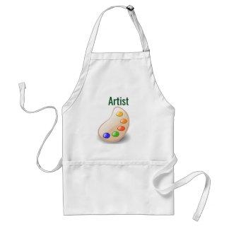 Tablier de norme d'ARTISTE