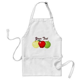 Tablier de trois pommes