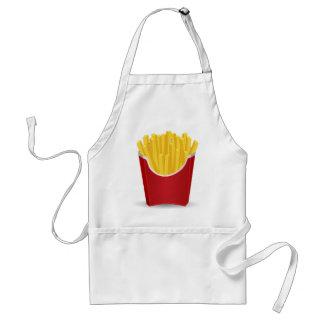 Tablier Dessin de pommes frites