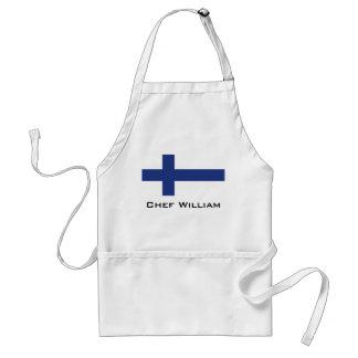 Tablier Drapeau de la Finlande