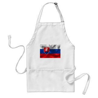 Tablier Drapeau de la Slovaquie