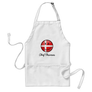 Tablier Drapeau de sourire du Danemark