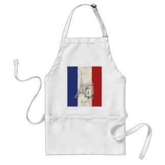 Tablier Drapeau et symboles de la France ID156