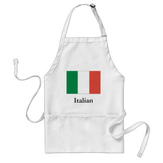 Tablier drapeau italien