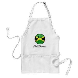Tablier Drapeau jamaïcain de sourire
