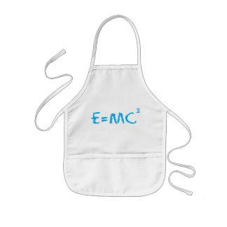 Tablier Enfant Enfant E=MC2 futé