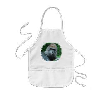 Tablier Enfant Gorille perplexe