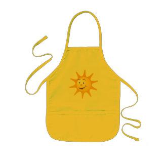 Tablier Enfant Le soleil heureux