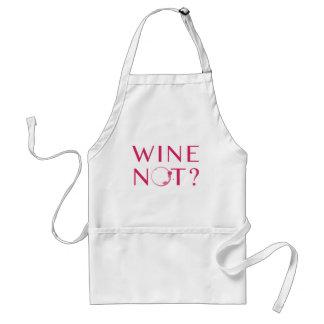 Tablier Humour d'amateur de vin du vin non  