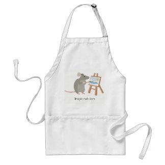 Tablier Inspiration pour les artistes affectueux de rat
