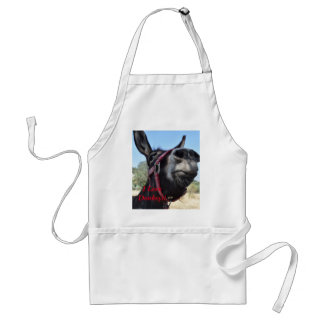 Tablier J'aime des ânes !