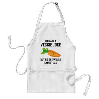 Tablier Je ferais une plaisanterie végétarienne