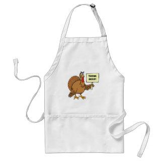 Tablier Les plaisanteries drôles de thanksgiving pour des