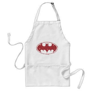 Tablier Logo de suintement de batte rouge de Batman |