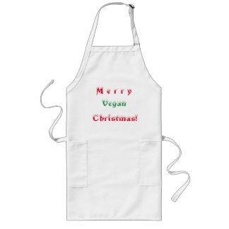 Tablier Long Joyeux Noël végétalien