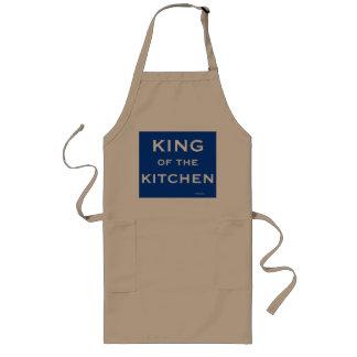 Tablier Long Roi drôle de nom de plaisanterie de cuisinier de