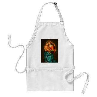 Tablier Mary et Jésus
