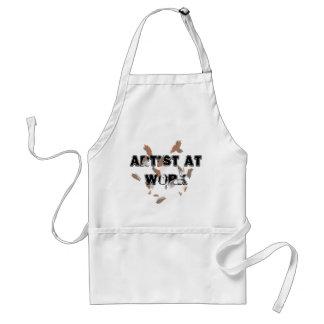 Tablier Métiers d'artistes de studio d'art faisant cuire