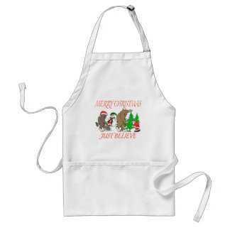 Tablier Noël 2 de famille de Bigfoot