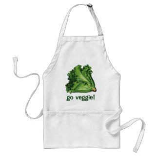 Tablier Nourritures vintages, légumes verts de laitue de