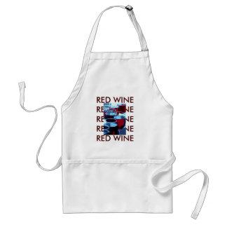 Tablier Photographie de vin rouge