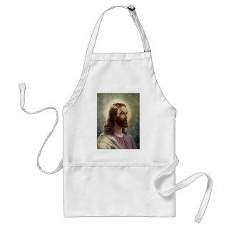 Tablier Portrait religieux vintage, Jésus-Christ avec le