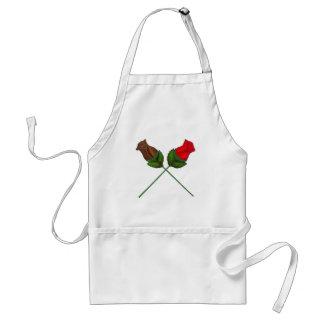 Tablier rose de sucrerie de Saint-Valentin de