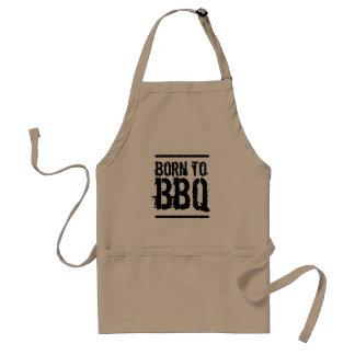 Tablier Soutenu au BBQ/au barbecue