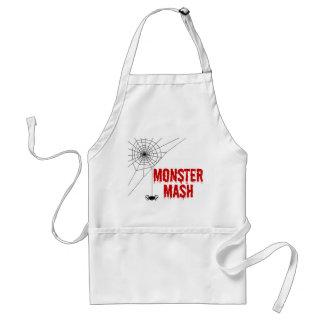 Tablier Toile d'araignée de Halloween de mâche de monstre