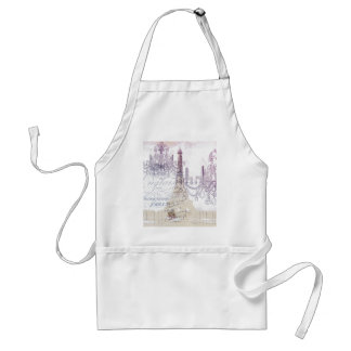 Tablier Tour Eiffel vintage girly moderne de Paris de