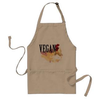Tablier végétalien de cuisine