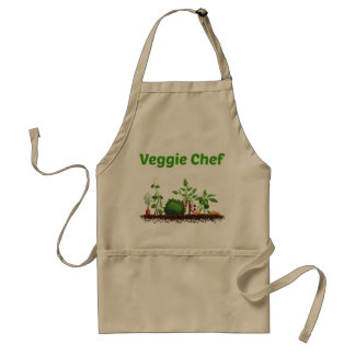 Tablier végétarien de chef
