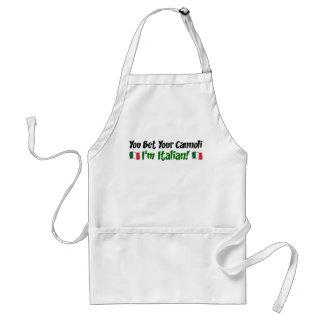 Tablier Vous pariez votre Cannoli que je suis italien