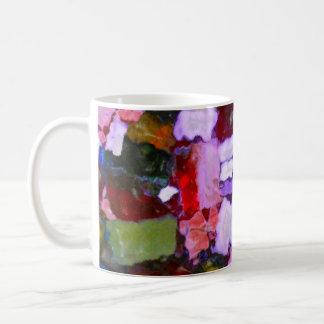 Taches colorées de scintillement mug