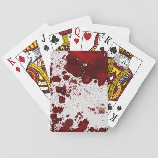 Taches de sang de Falln Jeux De Cartes