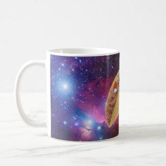 Taco de l'espace mug blanc