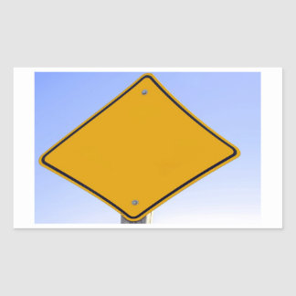 Tafelnummer Rechthoekige Sticker