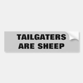 Tailgaters sont mouton autocollant de voiture