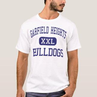 Tailles de Garfield - bouledogues - hautes - T-shirt