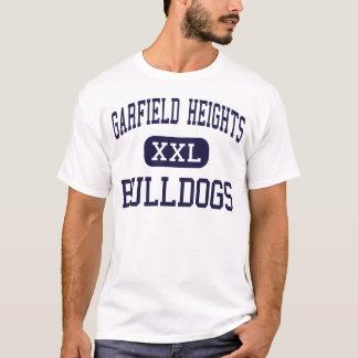 Tailles de Garfield - bouledogues - tailles de T-shirt