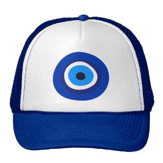 talisman arabe turc grec de symbole d'oeil mauvais casquette