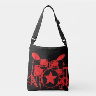Tambours rouges sac