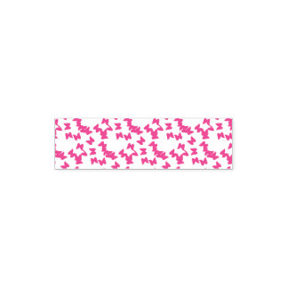 "Tampon Auto-encreur 1.4"" x 0.4"" Stamp Papillons Tampon Auto-encreur"