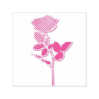 "Tampon Auto-encreur 1.5"" x 1.5"" Stamp Roses Tampon Auto-encreur"