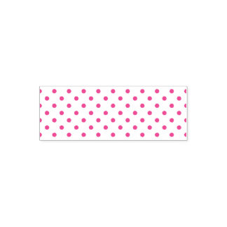 """Tampon Auto-encreur 2.65"""" x 0.9"""" Stamp Pois rond"""