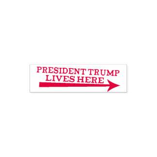 Tampon Auto-encreur Du Président Donald Trump des vies timbre de Troll