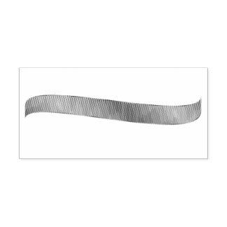 Tampon en caoutchouc réaliste de ruban de gradient