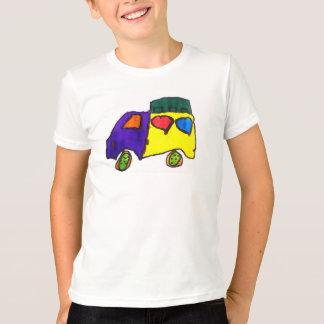 Tapez la chemise de camion de robinet t-shirt