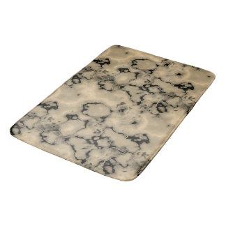 Tapis De Bain Conception en pierre de marbre brune à la mode de